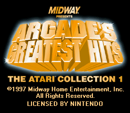Arcade's Greatest Hits - The Atari Collection 1