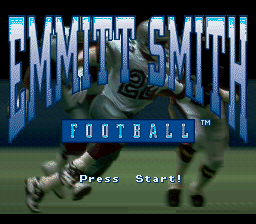 Emmitt Smith Football