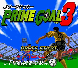 J League Soccer Prime Goal 3