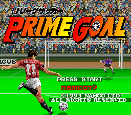 J League Soccer Prime Goal