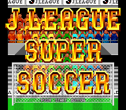 J League Super Soccer