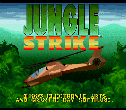 Jungle Strike - The Sequel to Desert Strike