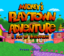 Mickey's Playtown Adventure - A Day of Discovery!