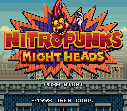 Nitro Punks - Might Heads