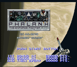Phalanx - The Enforce Fighter A-144