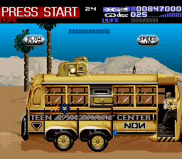 NON Teen Reprogramming Center Bus