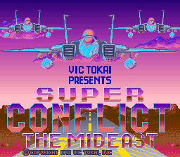 Super Conflict - The Mideast