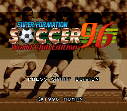 Super Formation Soccer 96 World Club Edition