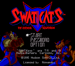 SWAT Kats - The Radical Squadron