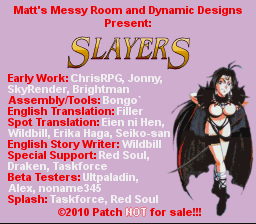 Slayers English