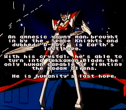 Space Knight Tekkaman Blade English