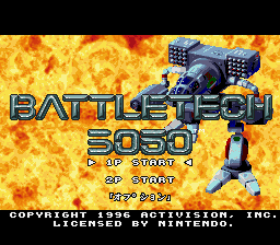 BattleTech 3050