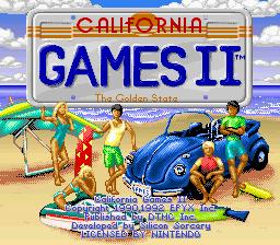 California Games 2