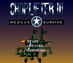 Choplifter 3 - Rescue Survive