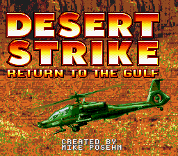 Desert Strike - Return to the Gulf