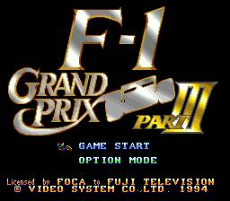 F-1 Grand Prix Part 3
