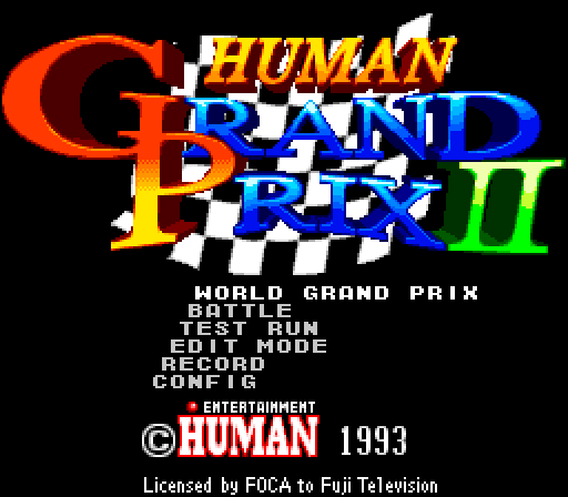 Human Grand Prix 2