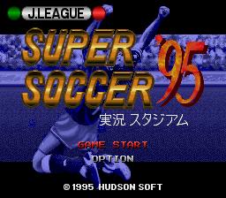 J League Super Soccer '95 - Jikkyou Stadium
