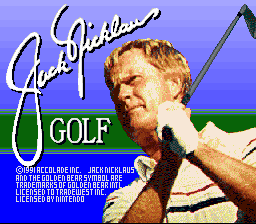 Jack Nicklaus Golf