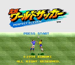 Jikkyou World Soccer - Perfect Eleven