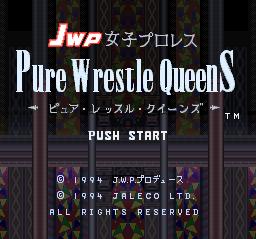 JWP Jyoshi Pro Wrestling - Pure Wrestle Queens