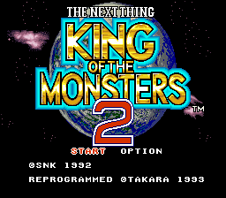 King of the Monsters 2 - The Next Thing