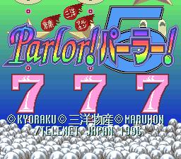 Kyoraku Sanyo Maruhon Parlor! Parlor! 5 Special
