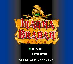 Magna Braban - Henreki no Yusha