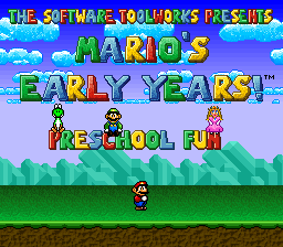Mario's Early Years - Preschool Fun