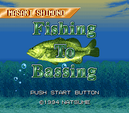 Shimono Masaki no Fishing To Bassing
