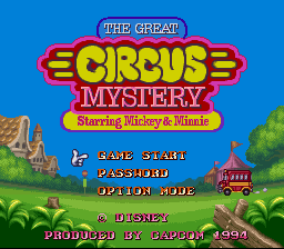 Mickey & Minnie Magical Adventure 2 - The Great Circus Mystery