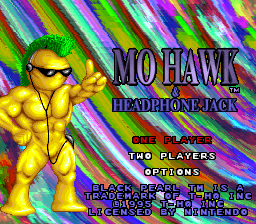 MoHawk & Headphone Jack