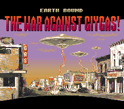 Earth Bound<br/> THE WAR AGAINST GIYGAS!