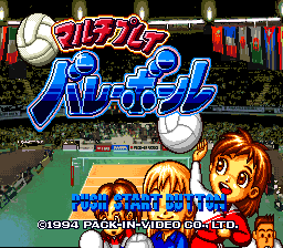 Multi-Play Volleyball