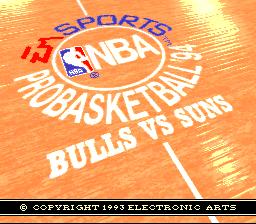 NBA Pro Basketball '94 - Bulls vs. Suns