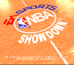 NBA Pro Basketball '94 - Bulls vs. Suns