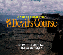 New 3D Golf Simulation - Devil's Course - 3D Golf Simulation