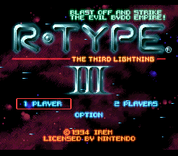 R-Type 3 - The Third Lightning