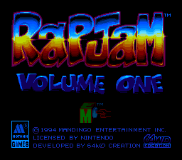 Rap Jam - Volume One