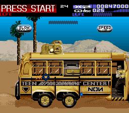 NON Teen Reprogramming Center Bus