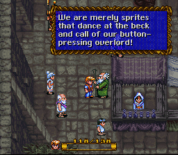 We are merely sprites that dance at the back and call our button-pressing overlord!