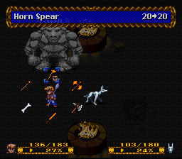 Horn Spear vs the Megatour