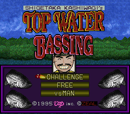 Shigetaka Kashiwagi no Top Water Bassing