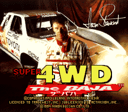 Super 4WD - The Baja
