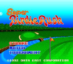 Super Birdie Rush