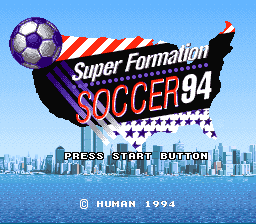 Super Formation Soccer 94 World Cup Edition