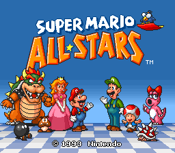 Super Mario All Stars Korean Version