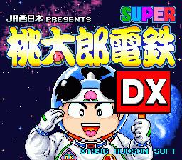 Super Momotarou Dentetsu DX - JR Nishi-Nihon Presents