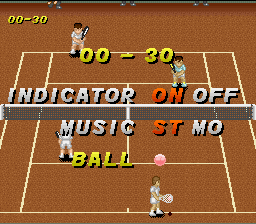 Super Tennis - World Circuit