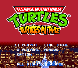 Teenage Mutant Ninja Turtles - Turtles In Time